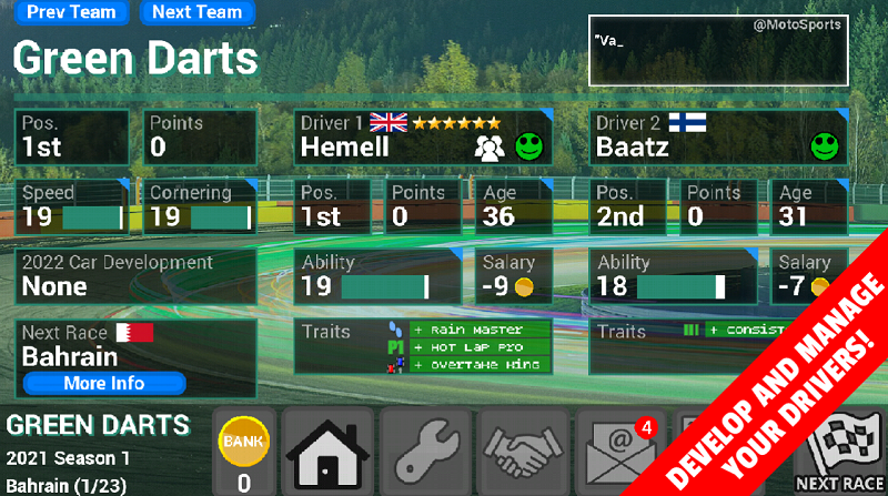 Mod FL Racing Manager 2021 Pro
