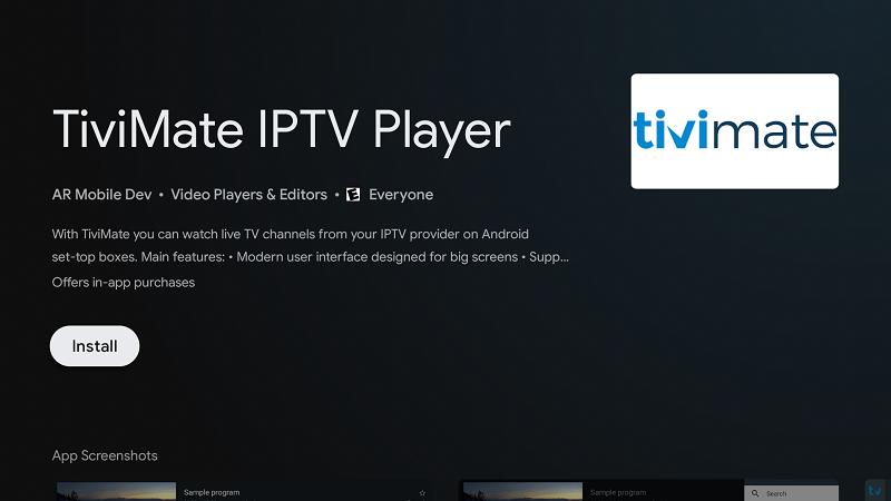 Ban Mod Cua TiviMate IPTV Player
