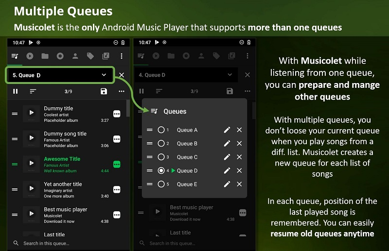 Musicolet Music Player Mod Apk