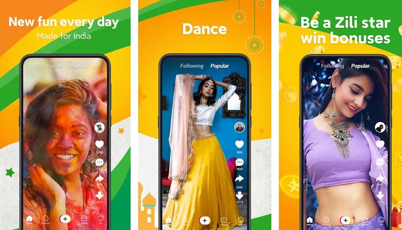 Zili Short Video App for India Mod Apk